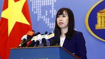 Việt Nam bác bỏ điều chỉnh quy chế nghỉ đánh bắt cá trên biển của Trung Quốc