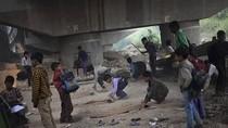 Chùm ảnh: Lớp học dưới gầm cầu