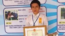 """Trao tặng giải thưởng """"Tài năng khoa học trẻ Việt Nam"""""""