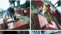 Nữ sinh ngồi tạo dáng trên mộ người chết đã hối lỗi