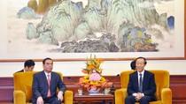 Đặc phái viên của Tổng bí thư đã đến Trung Quốc