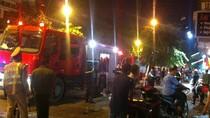 Cháy tòa nhà Công ty Xổ số kiến thiết Thủ đô