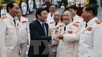 Chủ tịch nước nói gì với các thế hệ tướng lĩnh Công an nhân dân?