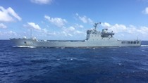 Tàu Trung Quốc vây ép, chĩa súng vào tàu Việt Nam là vi phạm pháp luật quốc tế