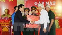 Chủ tịch nước gặp mặt các chiến sỹ cách mạng bị địch bắt, tù đày