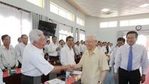 Tổng Bí thư Nguyễn Phú Trọng kiểm tra kinh tế - xã hội, quốc phòng tại Long An