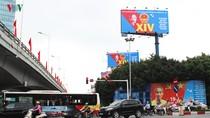 """Hà Nội tưng bừng chào đón """"ngày hội non sông"""""""