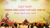 Thủ tướng gặp mặt các thành viên Chính phủ qua các thời kỳ