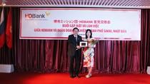 HDBank đẩy mạnh hợp tác với đối tác Nhật Bản