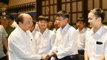 Thủ tướng làm việc với các nhà đầu tư tại Phú Quốc
