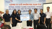 Masan PQ tặng chương trình an sinh xã hội huyện Phú Quốc 1 tỷ đồng