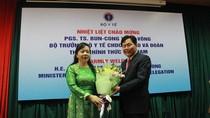 Bộ Y tế Việt Nam tăng cường hợp tác với Bộ Y tế Lào