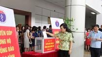 Bộ Y tế phát động ủng hộ đồng bào miền Trung khắc phục hậu quả bão số 10