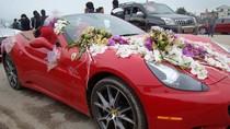 Ngắm dàn xế Ferrari, Rolls Royce, Bentley… trong 'đám cưới khủng' ở Hà Tĩnh
