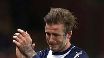 Beckham bật khóc trong ngày giã từ sự nghiệp