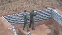 Lính Trung Quốc suýt chết trong lúc thực hành ném lựu đạn