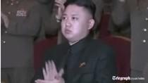 Video: Kim Jong-un uể oải vỗ tay xem văn nghệ mừng vụ nổ hạt nhân