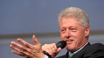 Bill Clinton thu nửa triệu đô cho 45 phút phát biểu tại Israel