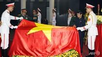 Hình ảnh Lễ Quốc tang Tướng Giáp trên báo chí quốc tế