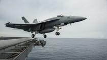 Ảnh: Cụm tàu sân bay USS George Washington hiện diện trên Biển Đông