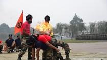Ảnh: Đặc nhiệm chống khủng bố Trung-Ấn biểu diễn tài năng