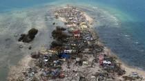 Cảnh tượng hoang tàn bão Haiyan để lại Philippines nhìn từ trên không