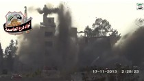 Video: Đánh bom căn cứ quân sự gần Damascus, 4 tướng Syria thiệt mạng