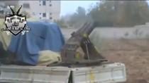 Video: Phiến quân Syria nã đạn vào đám tang gần Damascus