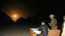 Kim Jong-un giám sát vụ phóng tên lửa nhằm vào căn cứ Mỹ tại Hàn Quốc