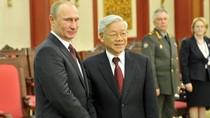 Moscow phê chuẩn thỏa thuận đối tác chiến lược Việt-Nga