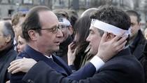 Ảnh: Hơn 40 lãnh đạo quốc tế cùng 3,7 triệu người Pháp tuần hành