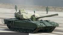 Nga lộ những hình ảnh đầu tiên của xe tăng Armata khi diễn tập diễu binh