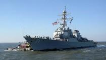 Hạm đội 6 công bố video Su-24 của Nga tiếp cận tàu USS Ross ở Biển Đen