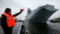 Tổng thống Pháp sẽ ra quyết định về số phận tàu Mistral của Nga