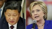 Tại sao bà Hillary Clinton lại chỉ trích ông Tập Cận Bình?
