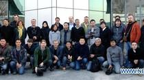 Rất nhiều phóng viên nước ngoài đã có mặt tại Triều Tiên