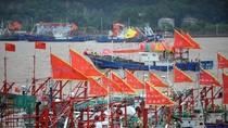 """""""Hạm đội tàu cá Trung Quốc"""" ồ ạt đổ ra biển Hoa Đông"""