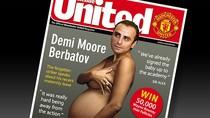 Berbatov bụng bầu che ngực trên tạp chí Inside United?