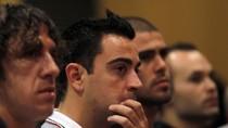 Sao Barca ngậm ngùi chia tay HLV Guardiola
