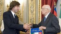 Tuyển Ý được Tổng thống đón chào trong ngày về Roma
