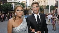Sergio Ramos lịch lãm  trong đám cưới chị gái
