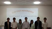 Thông tin về Đại hội AEVReims lần thứ II, nhiệm kỳ 2012-2013