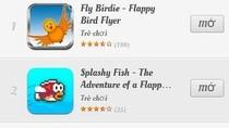 Nhan nhản game giống Flappy Bird đến 99%: Có thể kiện?