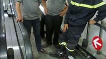 Bé bị thang máy cuốn phải phẫu thuật ghép nối chân