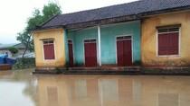 Hà Tĩnh: Các trường học huyện Hương Khê nghỉ học do lũ lớn