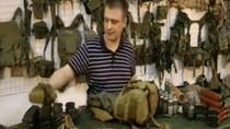 Bao xe, túi lựu đạn cải tiến của lính Nga