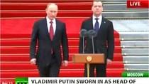 Toàn cảnh lễ nhậm chức của tân Tổng thống Nga Vladimir Putin