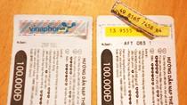 Cảnh báo: Thẻ cào VinaPhone, Viettel giả xuất hiện ở đại lý lớn