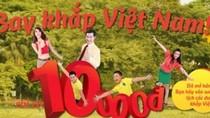 Khách không thể mua vé bay 10.000 đồng, VietjetAir: Do nghẽn mạng!