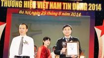 """Cô gái Hà Lan: """"Thương hiệu Việt Nam Tin Dùng 2014"""""""